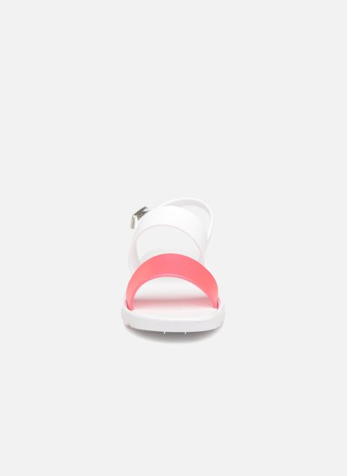 Sandals Be Only Eléa fuchsia White model view