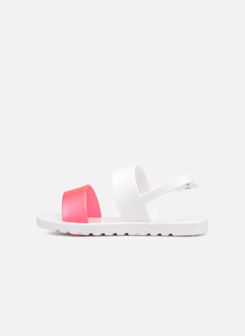 Sandals Be Only Eléa fuchsia White front view