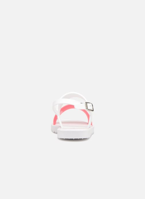 Sandals Be Only Eléa fuchsia White view from the right