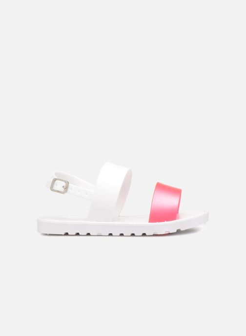 Sandals Be Only Eléa fuchsia White back view
