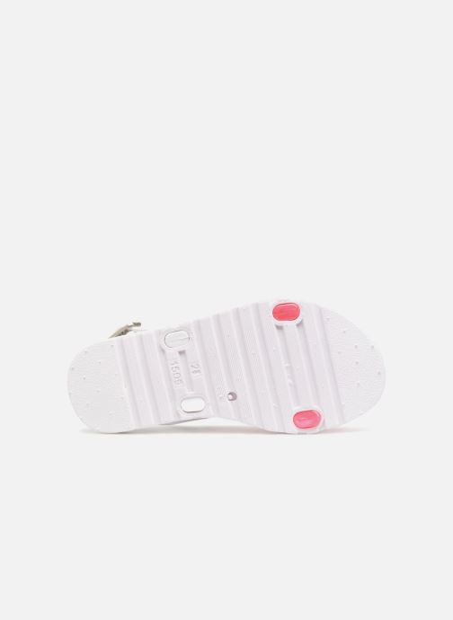 Sandals Be Only Eléa fuchsia White view from above