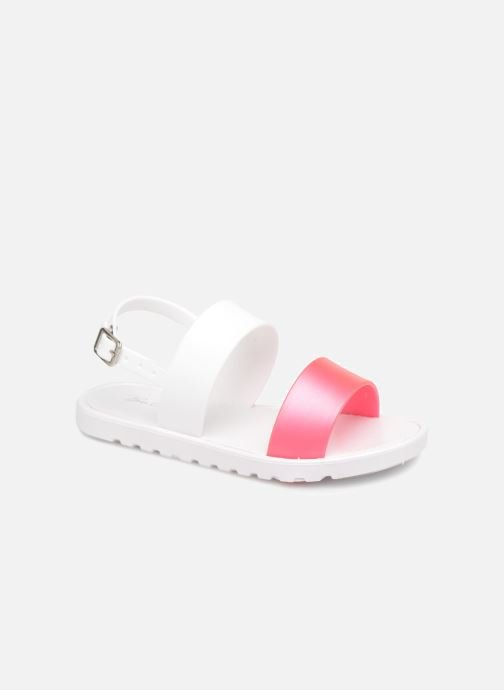 Sandals Be Only Eléa fuchsia White detailed view/ Pair view