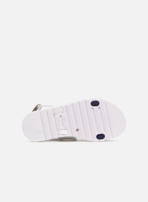 Sandali e scarpe aperte Be Only Eléa marine Bianco immagine dall'alto