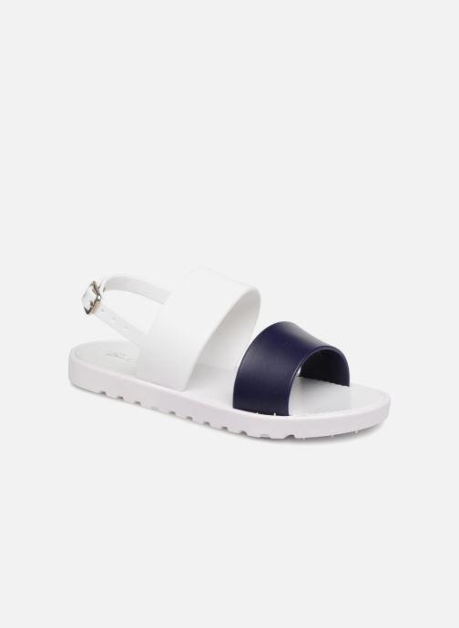 Sandales et nu-pieds Be Only Eléa marine Blanc vue détail/paire