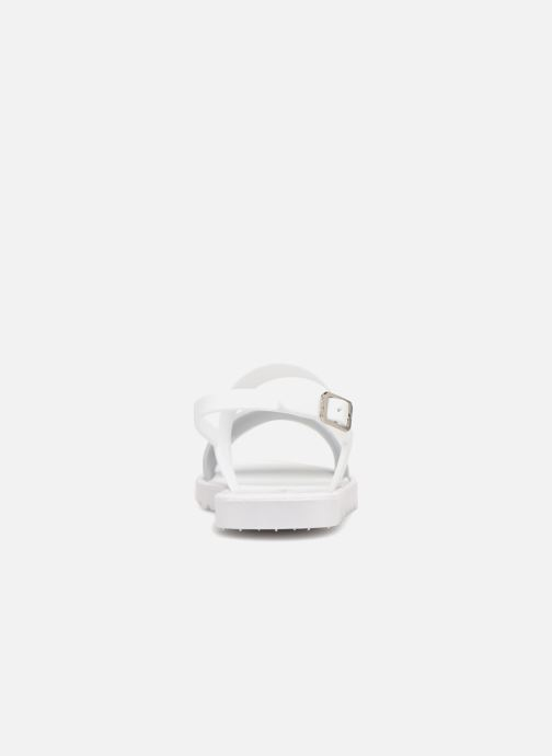 Sandals Be Only Eléa silver White view from the right