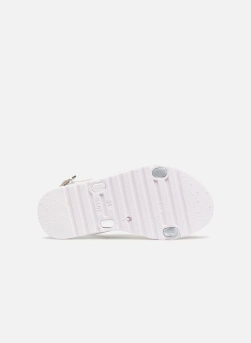 Sandals Be Only Eléa silver White view from above