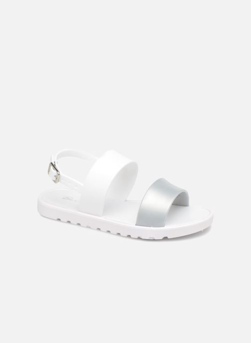 Sandals Be Only Eléa silver White detailed view/ Pair view