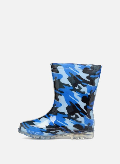 Bottes Be Only Military Kid Flash Bleu vue face