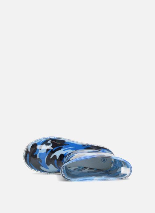 Bottes Be Only Military Kid Flash Bleu vue gauche