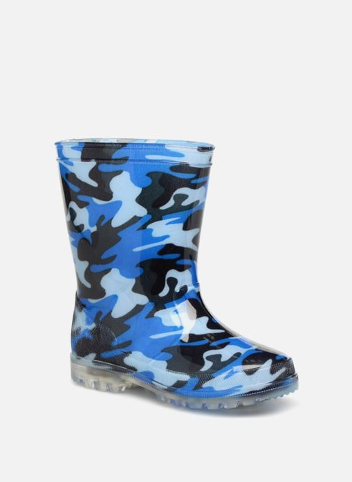 Boots & wellies Be Only Military Kid Flash Blue detailed view/ Pair view
