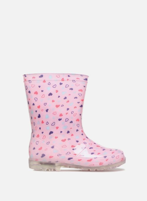 Botas Be only Valentine Kid Flash Rosa vistra trasera