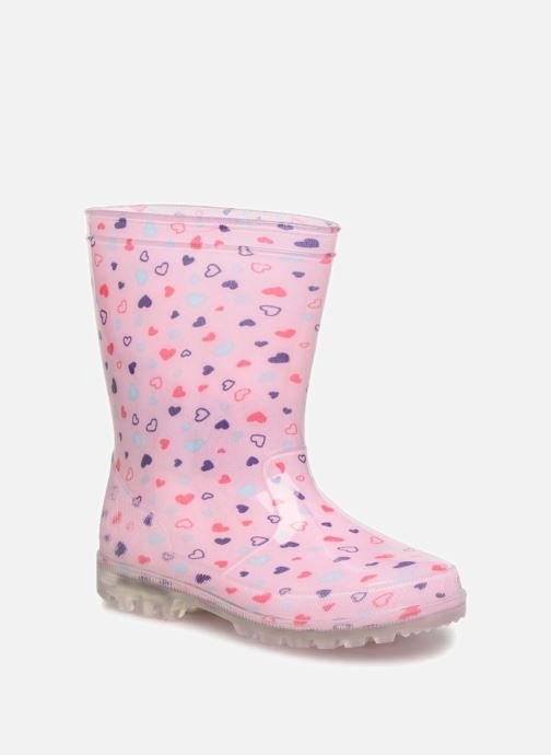 Boots & wellies Be Only Valentine Kid Flash Pink detailed view/ Pair view