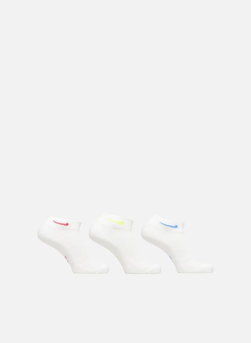 Socks & tights Nike Women's Nike Everyday Cushioned Quarter Training Socks (3 Pair) White detailed view/ Pair view