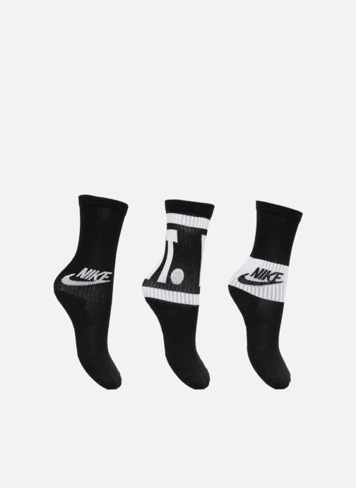 Chaussettes et collants Nike Kids' Nike Performance Cushioned Crew Training Socks 3PR Noir vue détail/paire