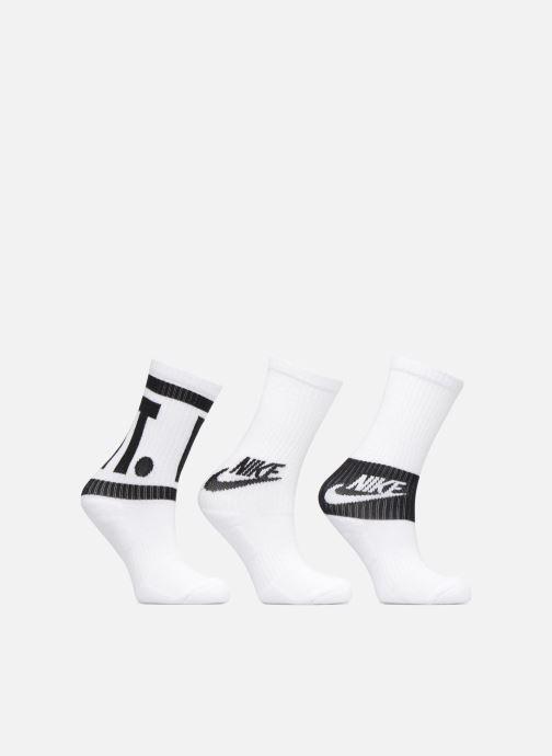 Chaussettes et collants Nike Kids' Nike Performance Cushioned Crew Training Socks 3PR Blanc vue détail/paire
