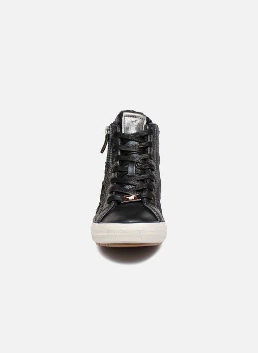 Baskets Mustang shoes Luzia Bleu vue portées chaussures