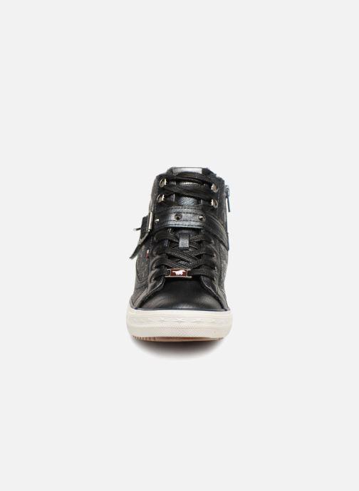Baskets Mustang shoes Kirsten Bleu vue portées chaussures