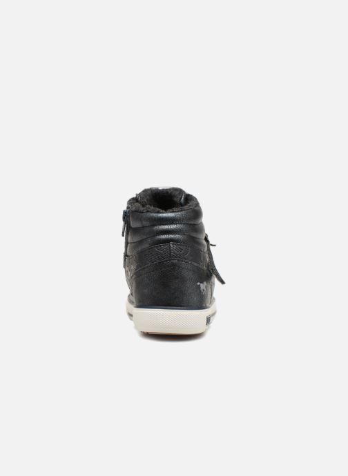 Baskets Mustang shoes Kirsten Bleu vue droite