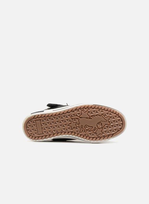 Baskets Mustang shoes Kirsten Bleu vue haut