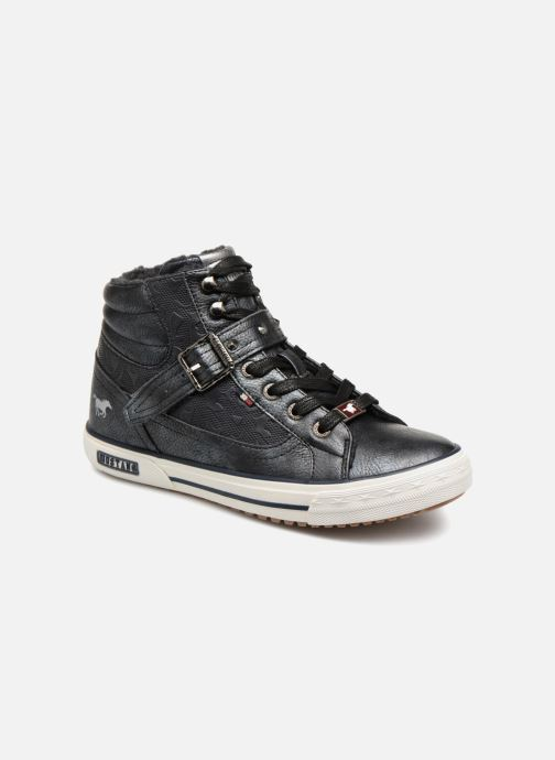 Baskets Mustang shoes Kirsten Bleu vue détail/paire