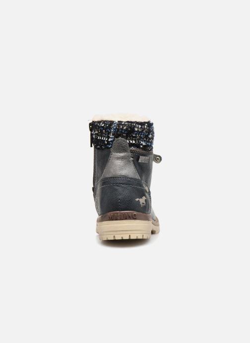 Bottines et boots Mustang shoes Ramona Bleu vue droite
