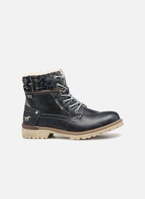 Boots en enkellaarsjes Mustang shoes Ramona Blauw achterkant