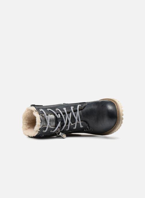 Boots en enkellaarsjes Mustang shoes Ramona Blauw links