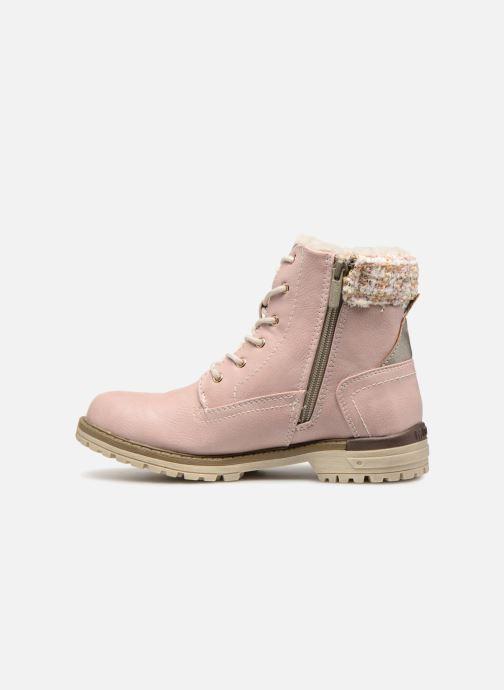 Stiefeletten & Boots Mustang shoes Ramona rosa ansicht von vorne