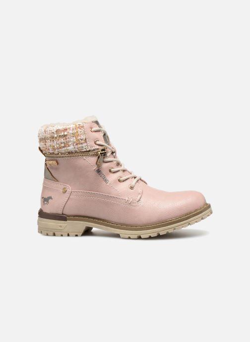 Bottines et boots Mustang shoes Ramona Rose vue derrière