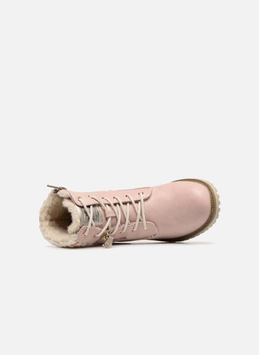 Bottines et boots Mustang shoes Ramona Rose vue gauche