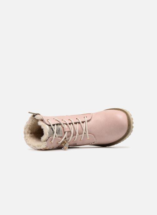 Boots en enkellaarsjes Mustang shoes Ramona Roze links