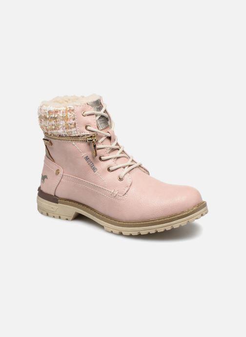 Bottines et boots Mustang shoes Ramona Rose vue détail/paire