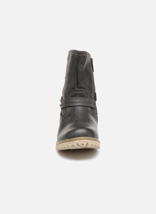 Bottines et boots Mustang shoes Liselotte Gris vue portées chaussures