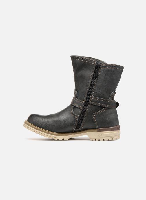 Bottines et boots Mustang shoes Liselotte Gris vue face
