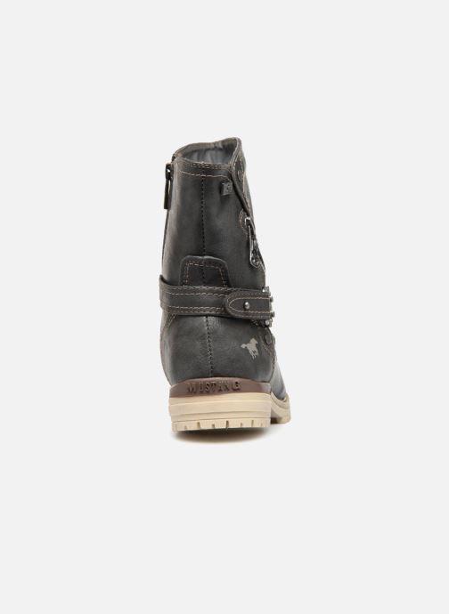 Bottines et boots Mustang shoes Liselotte Gris vue droite