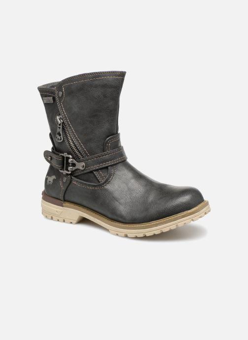 Bottines et boots Mustang shoes Liselotte Gris vue détail/paire