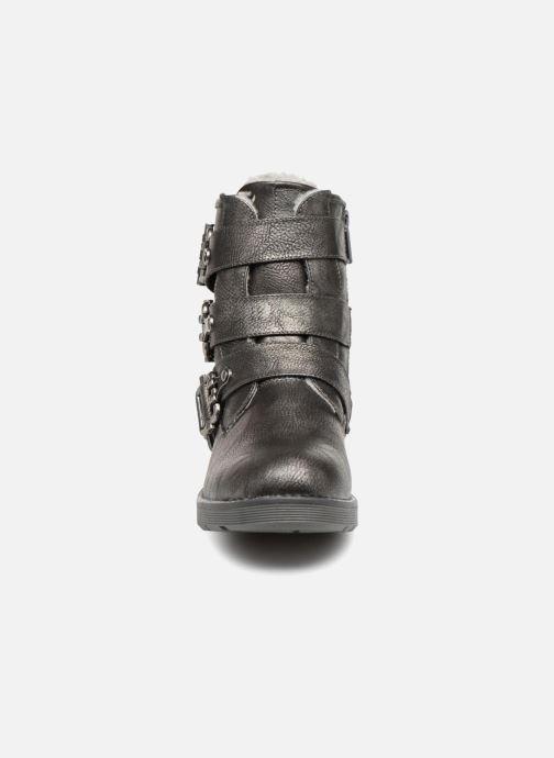 Bottines et boots Mustang shoes Amanda Gris vue portées chaussures