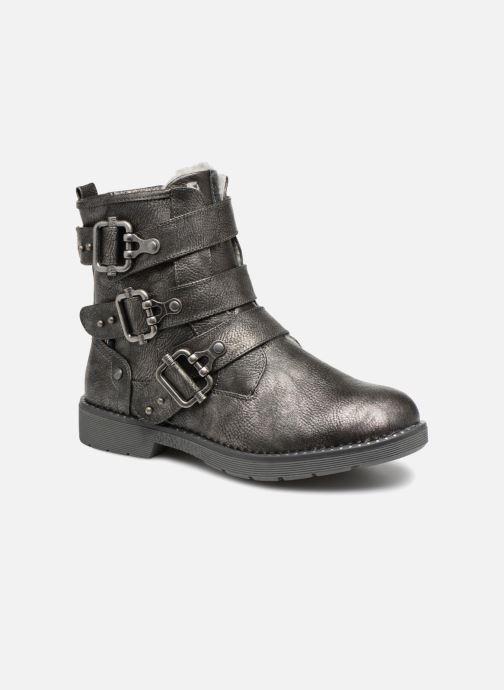Bottines et boots Mustang shoes Amanda Gris vue détail/paire