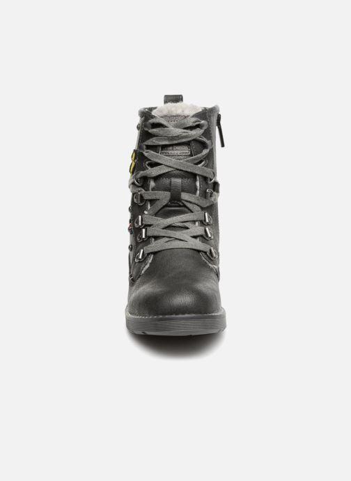 Stiefeletten & Boots Mustang shoes Jana schwarz schuhe getragen