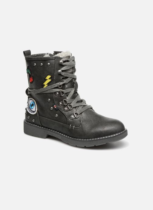 Ankle boots Mustang shoes Jana Black detailed view/ Pair view