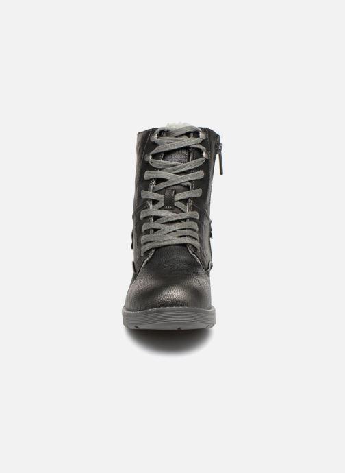 Bottines et boots Mustang shoes Hilda Noir vue portées chaussures