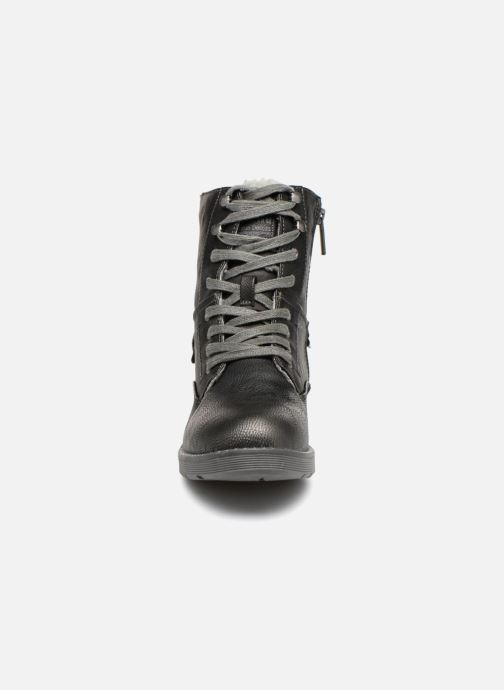 Stiefeletten & Boots Mustang shoes Hilda schwarz schuhe getragen