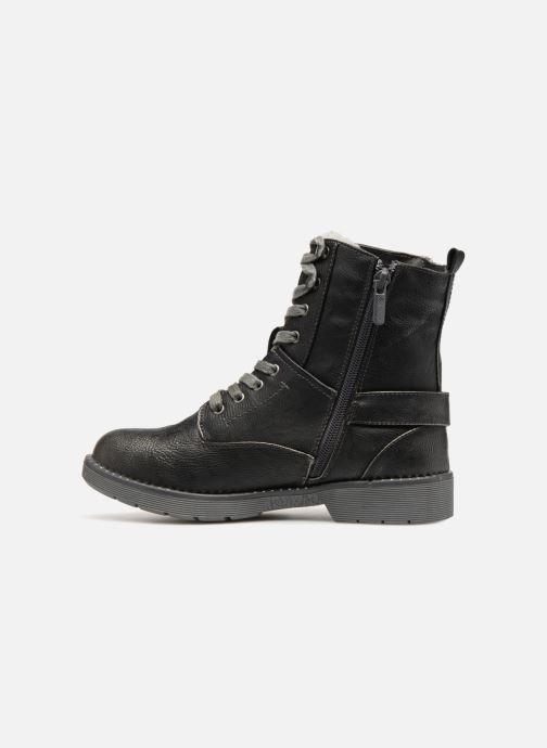 Boots en enkellaarsjes Mustang shoes Hilda Zwart voorkant