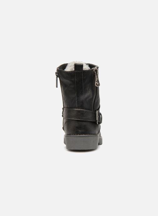 Bottines et boots Mustang shoes Hilda Noir vue droite