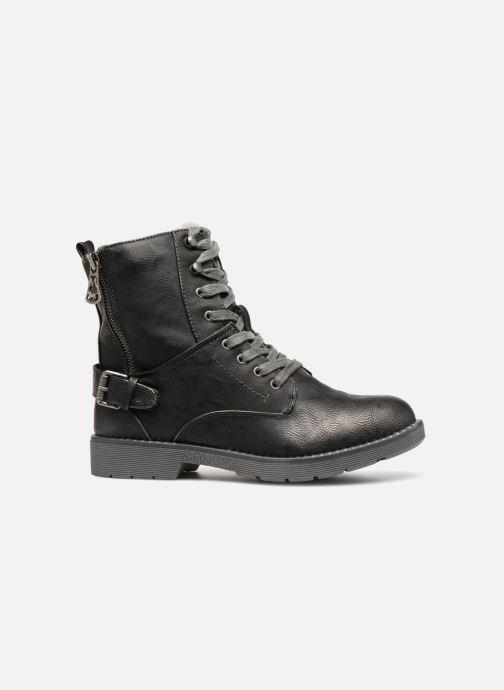 Bottines et boots Mustang shoes Hilda Noir vue derrière