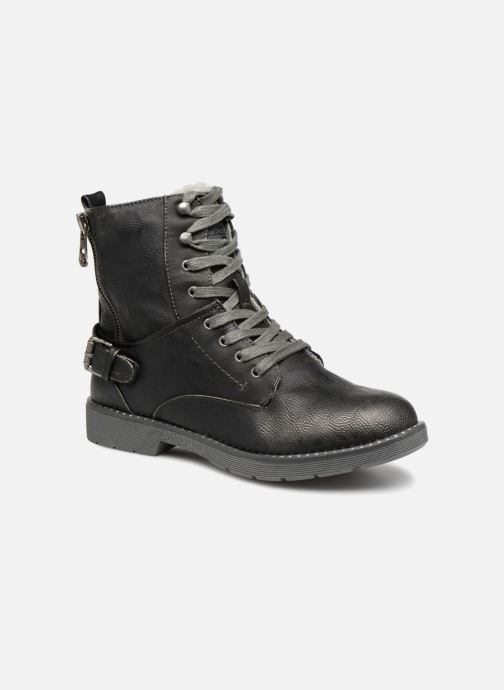 Boots en enkellaarsjes Mustang shoes Hilda Zwart detail