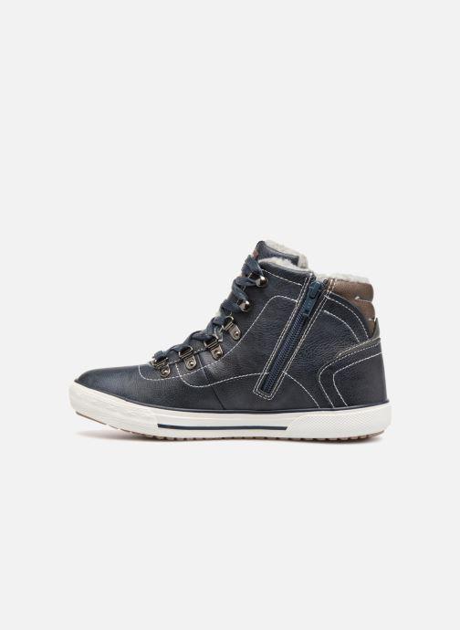 Sneakers Mustang shoes Heinrike Blauw voorkant