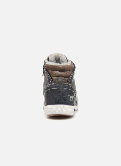 Sneakers Mustang shoes Heinrike Blauw rechts