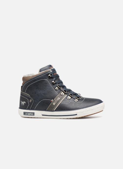 Sneakers Mustang shoes Heinrike Blauw achterkant