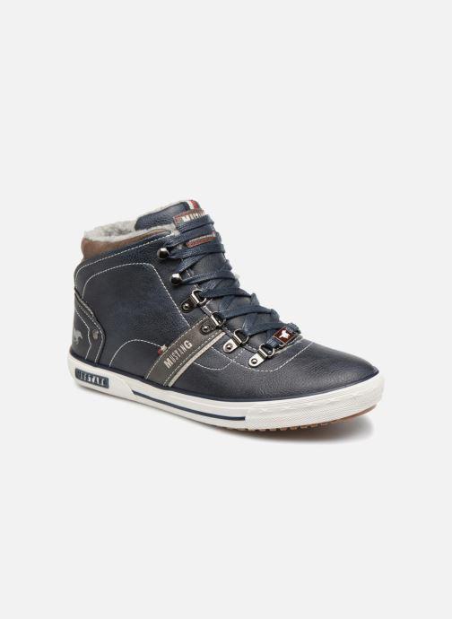 Sneakers Mustang shoes Heinrike Blauw detail